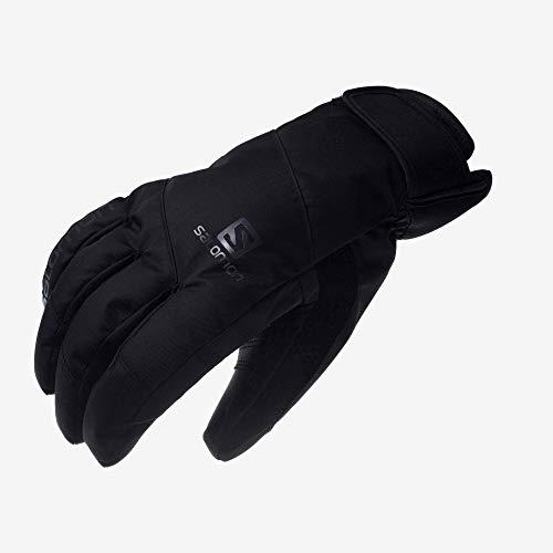 SALOMON(サロモン) スキーグローブ 2019-20年モデル メンズ JP SALOMON LOGO GLOVE Black/Forged Iron Lサ...