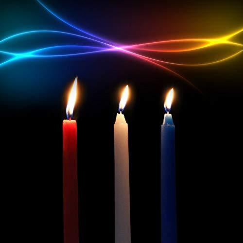 3 Stück/Packung niedrige Temperatur Kerzen Erwachsene Spiel Leidenschaft Tropfendes Wachs Spiel