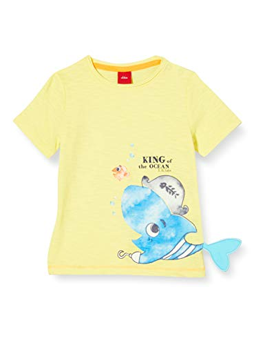 s.Oliver Junior Baby-Jungen 405.10.005.12.130.2038376 T-Shirt, 1195 Yellow, 62