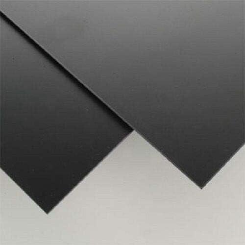 Super intense SALE Printing Crafts Models - Black Selling rankings Plastic POLYSTYRENE Sheet STYRENE