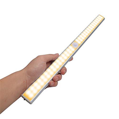 Unter Kabinett Beleuchtung Lampe USB-Ladekleiderstange, die Beleuchtung im Publikum überall drahtloser bewegliche Kleiderschrank Küchenschränke (2 Stück)