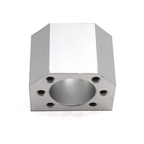 1Pcs Ballscrew Nut Housing Nut Bracket Holder fit for RM / SFU1604 1605 1610 Ball Screw Ball Nut Housing CNC Router Milling Parts