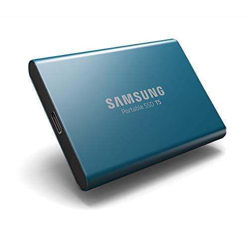 Samsung 外付けSSD T5 250GB USB3.1 Gen2対応 【PlayStation4 動作確認済】 正規代理店保証品 MU-PA250B/IT