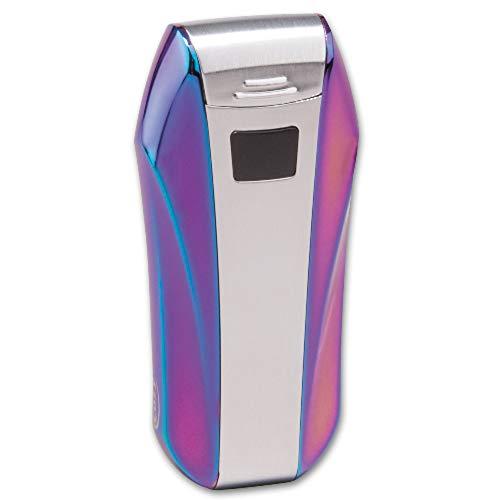 Feuerzeug Cozy Double Lichtbogentechnik Rainbow-metall, kein Gas nachfüllen nötig