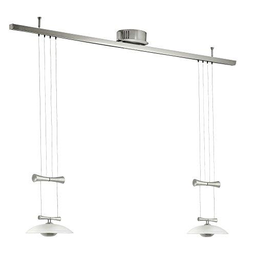 Lampe à suspension lustre éclairage Eglo Zeles1 89502