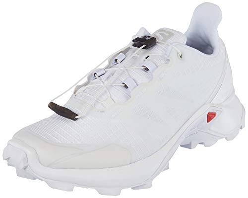 SALOMON Shoes Supercross, Zapatillas de Running para Mujer, Blanco (White/White/White)