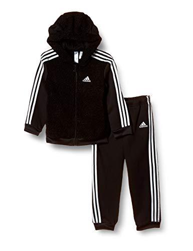 adidas Jungen I Boa Fz Hd Trainingsanzug, Black/White, 104