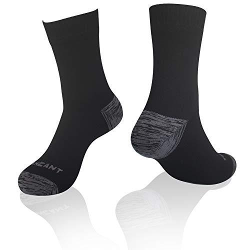 TANZANT 100%Waterproof socks, Hiking Cycling Fishing Kayaking Unisex Novelty Sport Socks 1 Pair