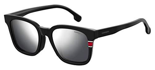 Carrera 185/F/S Sunglasses CA185FS-0003-T4-5321 - Matte Black Frame, Silver Mirror Lenses, Lens