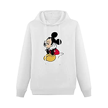 Mickey Mouse Cartoon Men s and Women s Fashion Long Sleeve Hoodie with Pockets