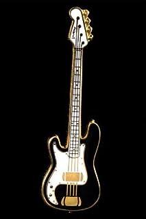 $47 » Electric Bass Guitar Pin - Black