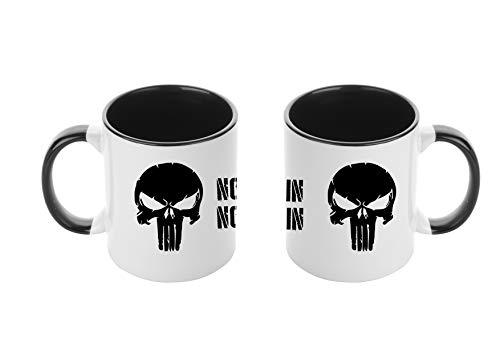 Tasse Punisher No Pain No Gain - Tasse Mug - Neue Kollektion - Frühstück - The - Kaffee - Schokolade - Geschenk