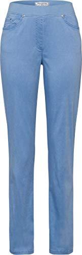 Raphaela by Brax Damen Style Pamina Super Dynamic Cotton Pigment Hose, Sky, W(Herstellergröße: 42)
