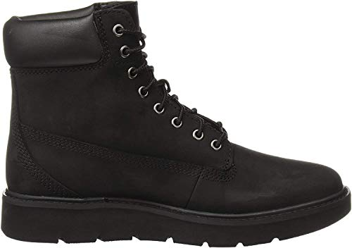 Timberland Damen Kenniston 6 Inch Lace Up Stiefel, Schwarz (Black Nubuck), 39 EU