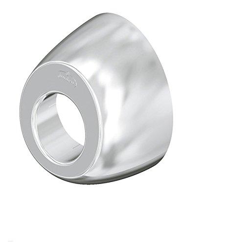Jimten s-123 - Plafon embellecedor ovalado abs s123 diámetro 32 cromo