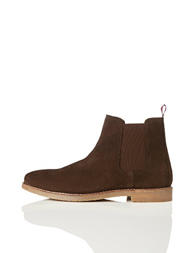 find. Camberly Herren Chelsea Boots, Braun (Chocolate), 45 EU