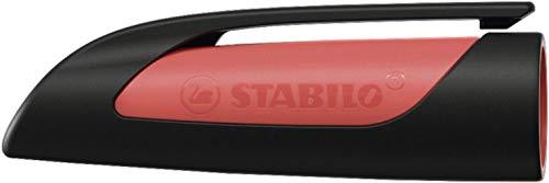 Kappe für Schulfüller - STABILO EASYbuddy in schwarz/rot - einzeln