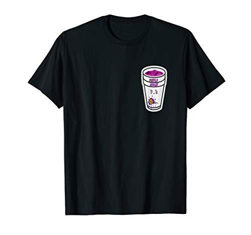 Cool Rapper Lean Double Cup Purple Dreams T-Shirt