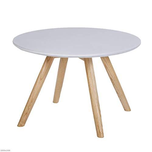 TX ZHAORUI bijzettafel van massief hout balkon rond salontafel hoeken meerdere kleine ronde tafel salontafel