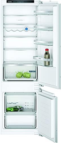 Siemens KI87VVFE1 iQ300 - Congelador empotrado (216 kWh/año, 200 l, sistema de frescor HyperFresh, baja helada, iluminación interior LED, caja BigBox)