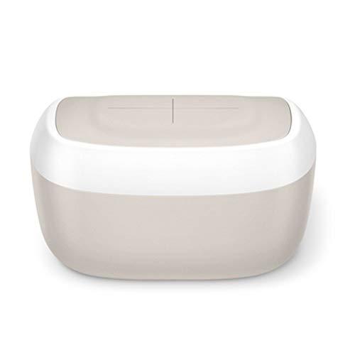 YUMEIGE Tücher-Wärmer Wipe Warmer 8,4 X 5,2 X 4,7 Zoll,tücherwärmer für Babys Material ABS + PP, tücherwärmer Baby Oberhitze, Grau, Rosa, Lila (Color : Gray)