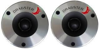 DRAGSTER DTX 101 TWEETER TITANIO 25Mm - 200 WATTS COPPIA SPL Auto Car Stereo