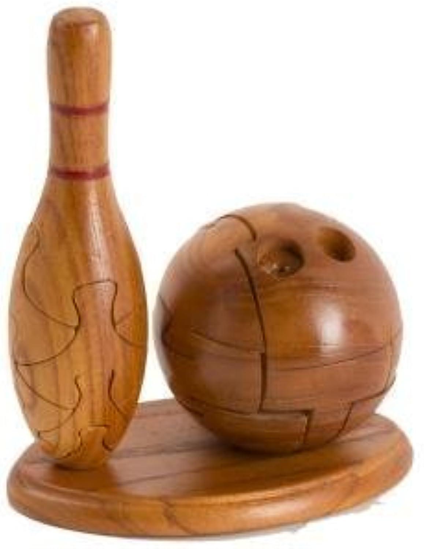 comprar descuentos CHH Bowling 3D Jigsaw Wooden Brain Teaser Puzzle Puzzle Puzzle by CHH  últimos estilos