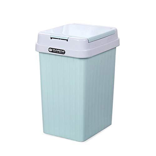 WYWY Papelera Cubo de Basura de Basura de plástico Contened