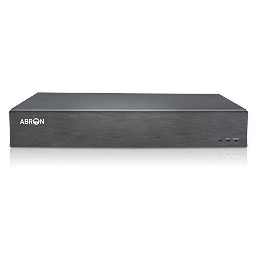 Abronis 5MP registratore DVR 16 canali, H.265+ DVR ibrido 5-in-1 per telecamere di sicurezza CCTV domestiche AHD TVI CVI analogiche Onvif-IP, accesso remoto, supporto fino a 2 x 6TB HDD(non incluso)