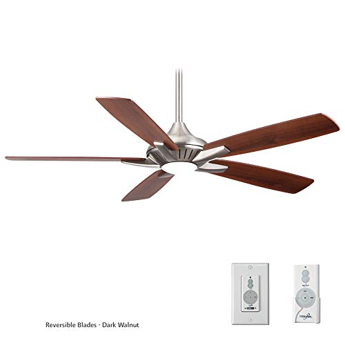 Minka-Aire F1000-BN, Dyno, 52' Smart Ceiling Fan, Brushed Nickel With Additional Wall Control