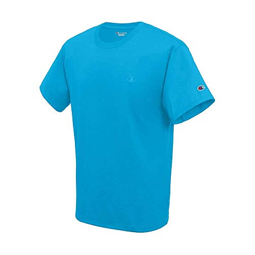 Champion Men's Classic Jersey TEE, Deep Blue Water, Large