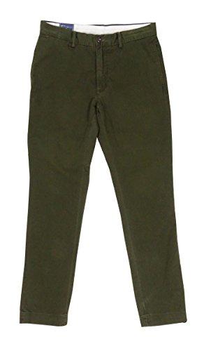 Polo Ralph Lauren Slim-Fit Bedford Chino Pants (38W x 34L, Dark Loden)