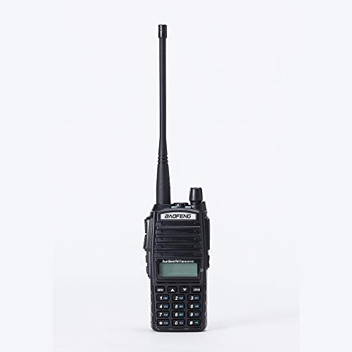 Baofeng UV-82 High Power Tri-Power 8/4/1-Watt Dual Band VHF 136-174MHz/UHF 400-520MHz Portable FRS Radio Two-Way Radio
