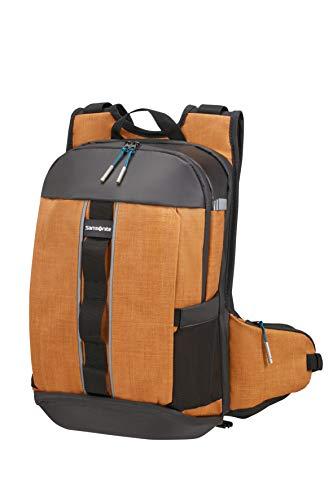 Samsonite 2WM - Laptop Rucksack M 15.6 Zoll, 45 cm, 19.5 L, braun (Saffron)