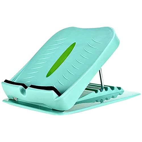 ZBQLKM Tablero de becerro inclinado ajustable y tobillo inclinación del tobillo 5 posiciones Diseño antideslizante Plástico de servicio pesado, casero Pasado de mesa Punta de masaje Camillas Equipo de