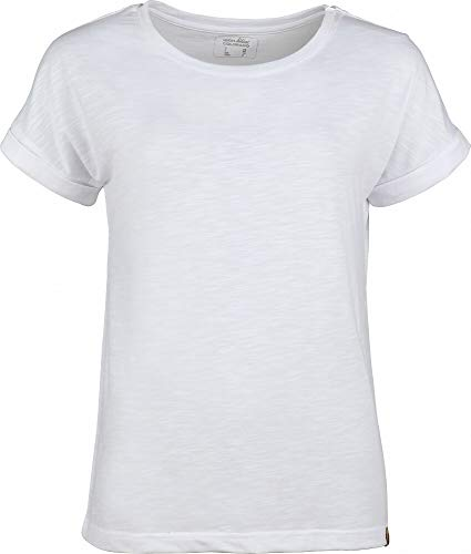 High Colorado Boston T-Shirt à Manches Courtes pour Femme Blanc 2020 FR:42 Blanc