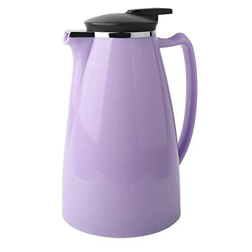 OH Isolierter Kaffee Karaffe 2000Ml Edelstahl Milchkanne Thermal Insulated Vakuumkessel Tragbare Wasserkanne Für Kaffee, Milch, Wasser, Getränke Umweltschutz/Lila