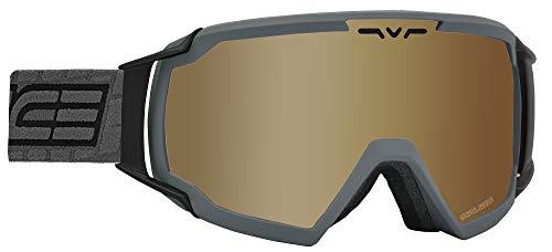 Salice 618TECH Skibrille SR Unisex Erwachsene, Anthrazit, Einheitsgröße