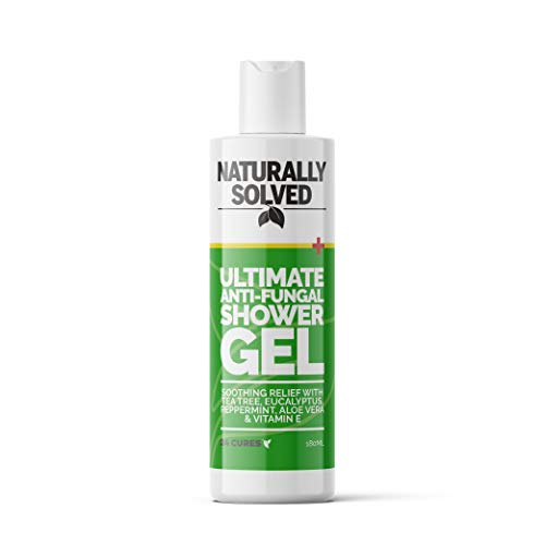 Ultimate Anti Fungal Anti Bacterial Shower Gel with Tea Tree for Fungus, Jock Itch, Thrush, Acne & Athletes Foot