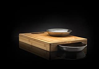 Napoleon Grills 70012 Commercial Cutting Board with Stainless Steel Bowls