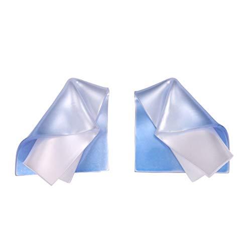 REOOHOUSE Pendientes Pendientes de acrílico de Corea Moda distorsión Pendientes Personalizados Azul Estilo de Centro turístico Mujer