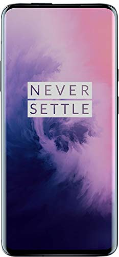 Oneplus 7 Pro GM1910 128GB, 6GB, Dual Sim, 6.67 inch, 48MP Main Lens Triple Camera, GSM Unlocked International Model, No Warranty (Mirror Gray)