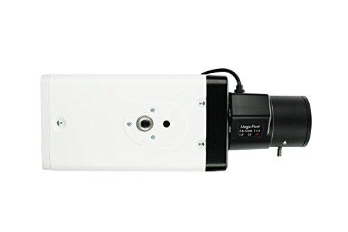 LUPUSCAM LE 102HD HDTV Kamera, Boxkamera mit 1080p Auflösung und Varioobjektivgewinde, HDCVI, BNC-Anschluss, inkl. 12V Netzteil (ohne Objektiv)