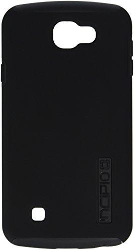Incipio Cell Phone Case for LG K4/Optimus Zone 3/Spree - Retail Packaging - Black