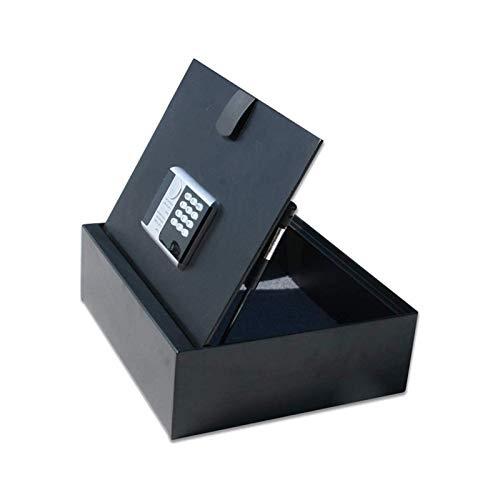 HIZLJJ Cajas Fuertes y Cerraduras - Caja Fuerte Resistente al Fuego de Seguridad de Acero con Cerradura Digital, Vuelto hacia Arriba Diseño