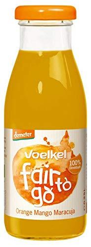 Voelkel Bio fair to go - Orange Mango Maracuja (6 x 250 ml)