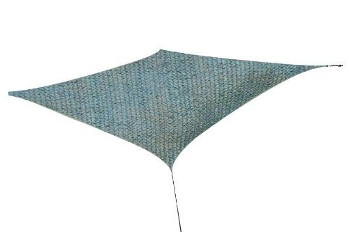SS02 Sonnen-segel 235 x 400 cm, HDPE UV Sonnen-Schutz Sonnenschirm-e Balkon Terrasse Garten-Möbel UV- und Sicht-Schutz im Sommer