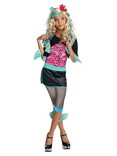 Rubie's-déguisement officiel - Monster High- Déguisement luxe Lagoona Blue- Taille M 5-7 ans- CS801091