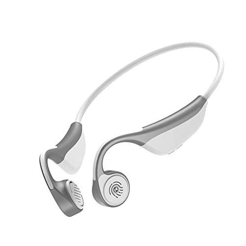 Auriculares inalámbricos de conducción de hueso con micrófono Bluetooth 5.0 Auriculares ligeros a prueba de corriente HIFI Estéreo IP65 IP65 impermeable CVC Ruido Deporte Auriculares Bluetooth para na