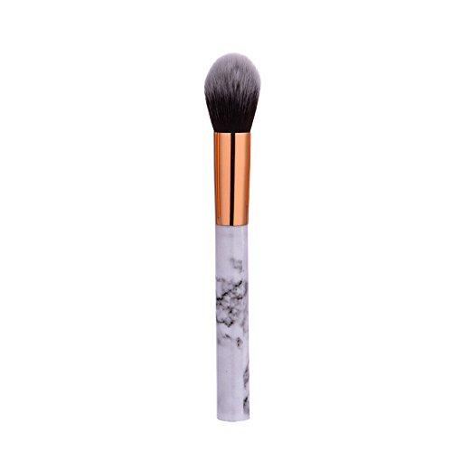 UINGKID Pinceaux de Maquillage Set de 1 Pièces Premium Coloré Fondation Mélange Blush Yeux Visage Poudre Brosse Cosmétiques Aspect marbre